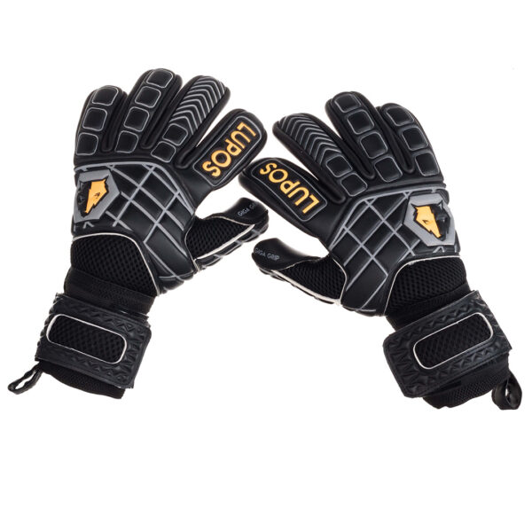 Goalkeeper gloves Lupos Hyper Black