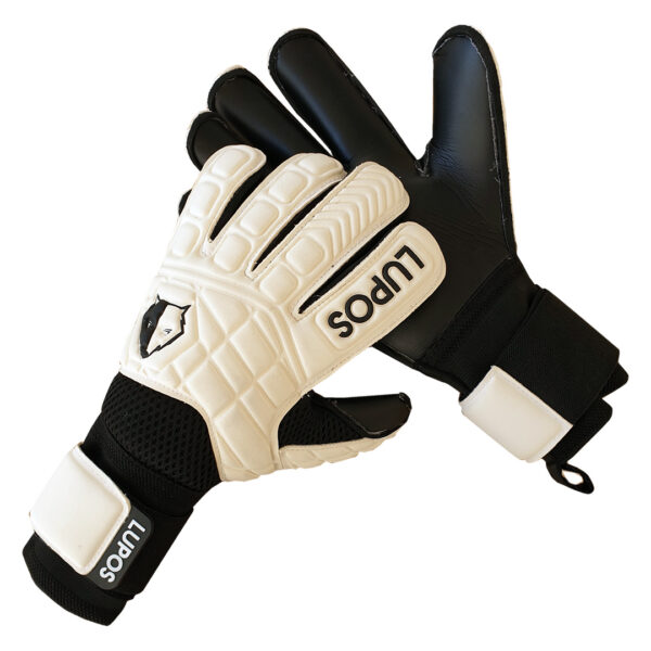 Lupos White One goalkeeper gloves