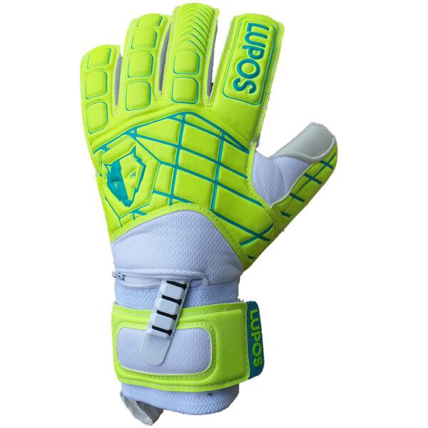 Lupos Lime goalkeeper gloves