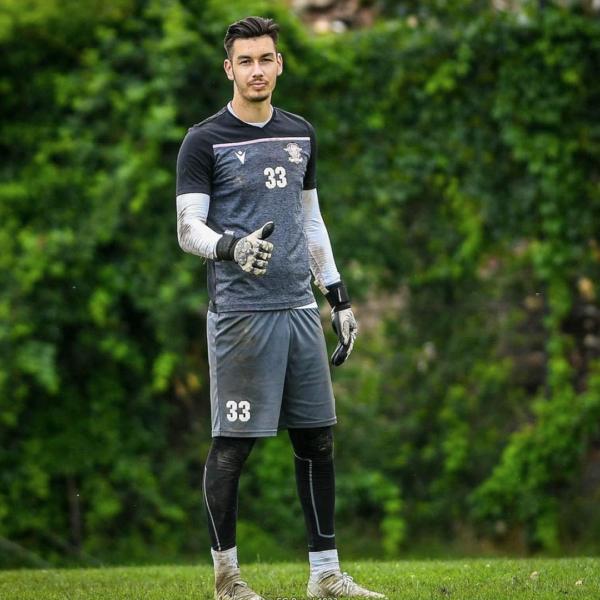 Manusi portar Lupos Tattoo Alex Tataru FC Rapid